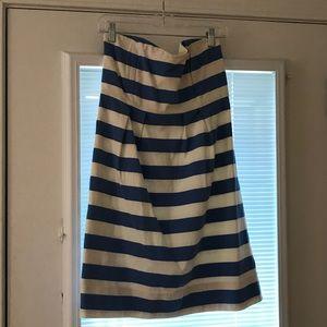 Jcrew Rugby Stripe Dress